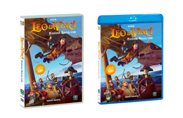 Leo da Vinci – Missione Monna Lisa in dvd e blu ray