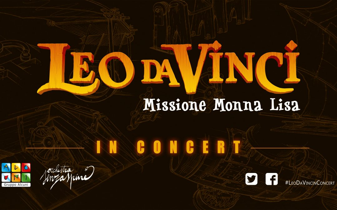 Leo da Vinci in Concert: la suite del film all'interno dell'evento Cartoons