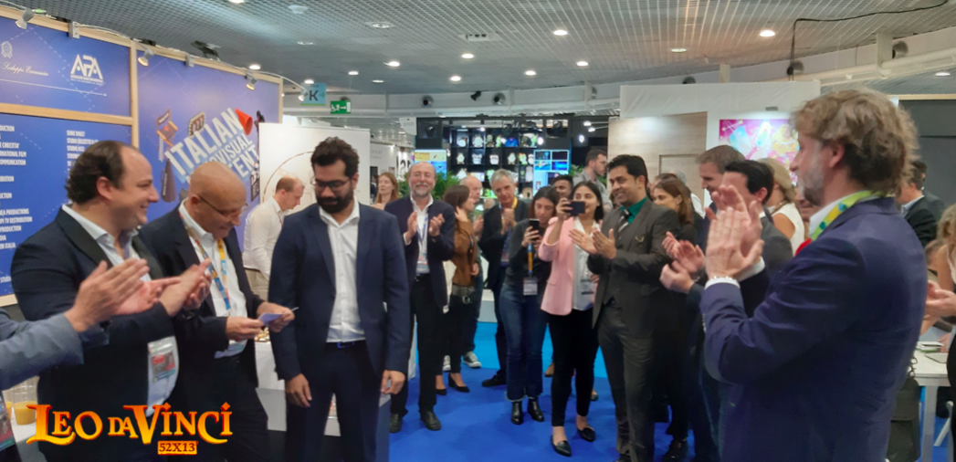 Leo da Vinci: il party di lancio al MipCom 2019 di Cannes