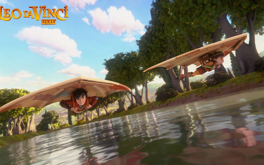 Leo da Vinci protagonista della tv dei ragazzi su Rai 2